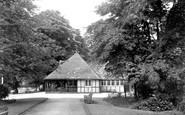 Belper, Gardens Cafe c.1950