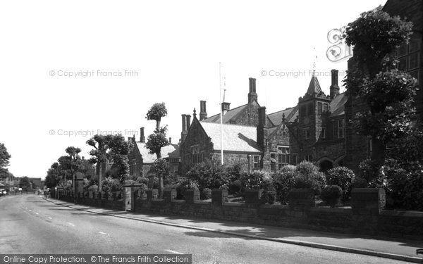 Photo of Belper, Herbert Strutt School c1955