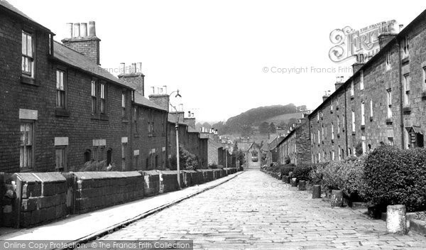 Belper, Long Row c.1955
