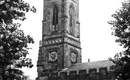 Belper, Parish Church Of St Peter c.1950