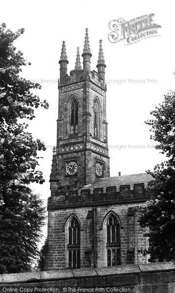Belper, Parish Church Of St Peter c.1955