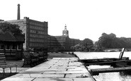Belper, River Derwent And Mill c.1950
