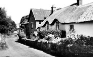 Belstone, The Village 1959