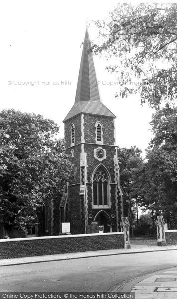 Belvedere, All Saints Church c.1955