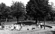 Belvedere, The Childrens Sand Playground c.1955