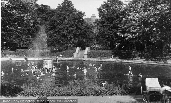 Belvedere, The Lake c.1950