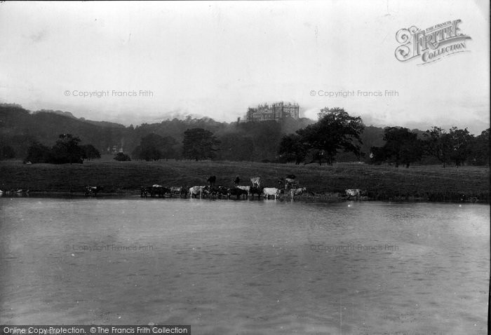 Belvoir Castle, And Lake 1890