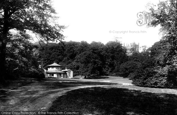 Belvoir Castle, View In The Park 1890
