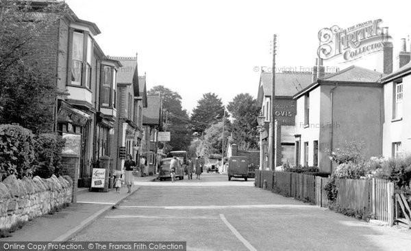 Bembridge, High Street c.1955