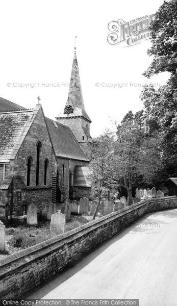 Bembridge, Holy Trinity Church c.1955