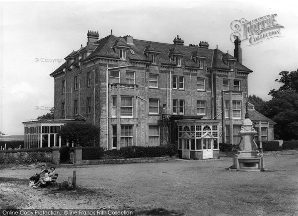 Bembridge, Royal Spithead Hotel c.1960