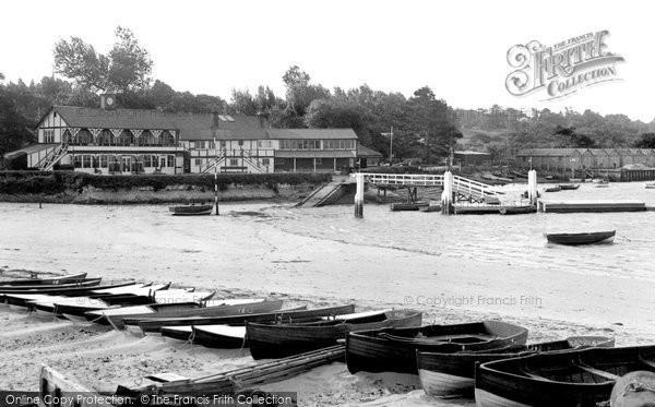 Bembridge, The Harbour c.1955