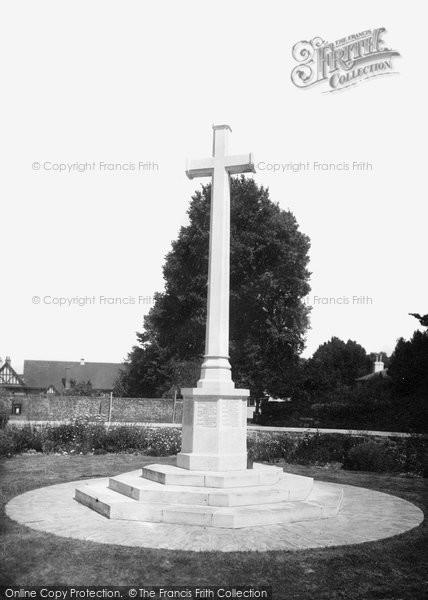 Bembridge, The Memorial 1923
