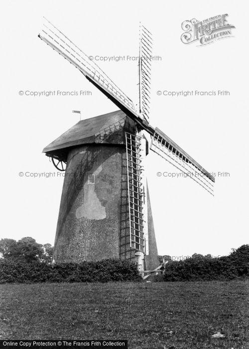 Bembridge, The Old Windmill c.1955