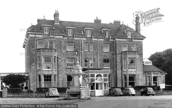 Photo of Bembridge, the Royal Spithead Hotel c1955