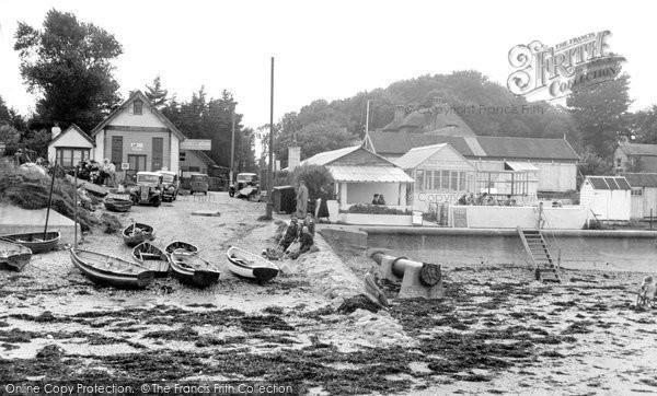 Bembridge, The Slipway c.1955