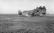 Benbecula, Borve Castle 1963