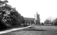 Benenden, St George's Church And Green 1901