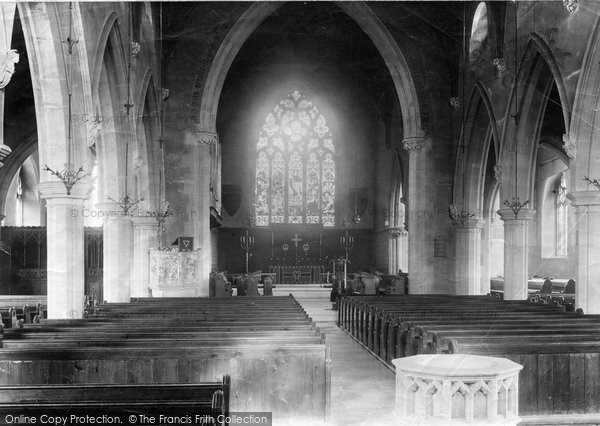 Benhilton, Church Interior 1890