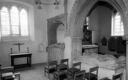 Benington, Church Interior c.1960