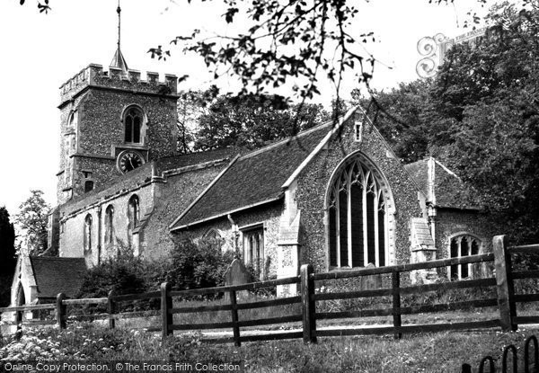 Benington, St Peter's Church c.1960
