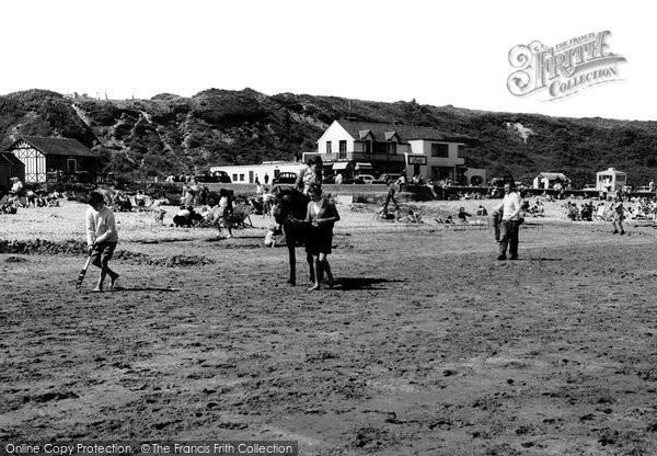 Benllech Bay, Beach c.1960