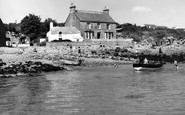 Benllech Bay, Benllech Isaf And The Gift Shop c.1960