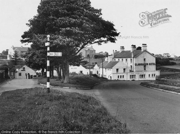 Benllech Bay, Glanrafon Hotel c.1955