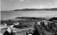 Benllech Bay, Red Wharf Bay From St David's c.1960