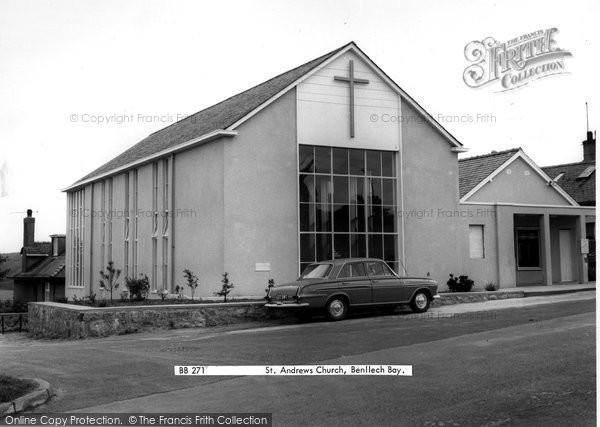 Benllech Bay, St Andrew's Church c.1965