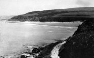 Benllech Bay, View From The Creek c.1935