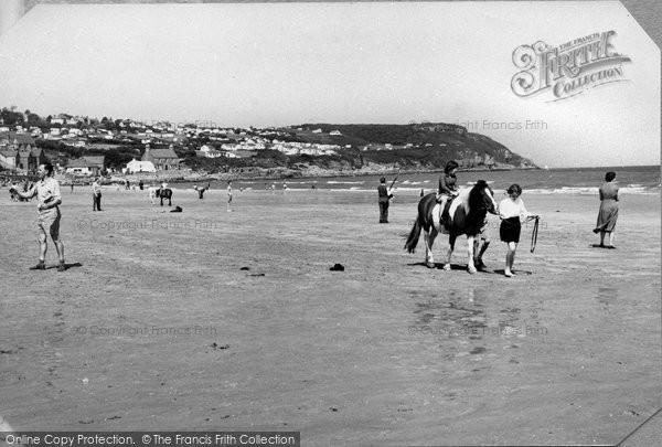 Benllech, Beach c.1960