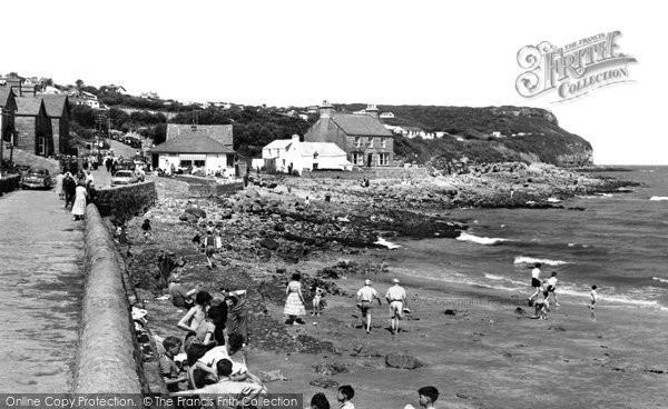 Benllech, The Beach c.1960