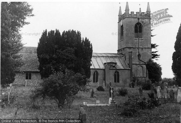 Benson, St Helen's Church c.1955