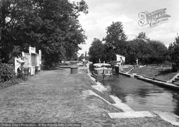 Benson, The Lock c.1955
