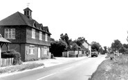 Bentley, Memorial Hall And Village c.1955