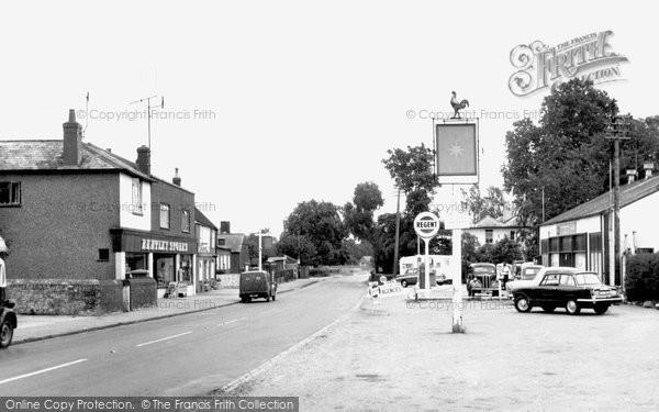 Bentley, The Village c.1955