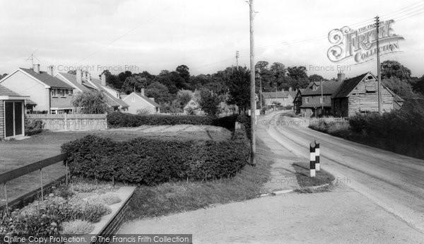 Beoley, Main Road c.1965