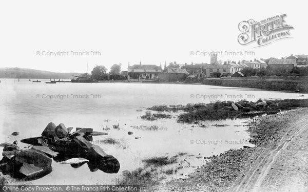 Bere Ferrers, River Tavy 1898
