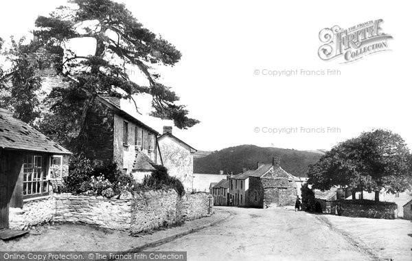 Bere Ferrers, The Village 1898