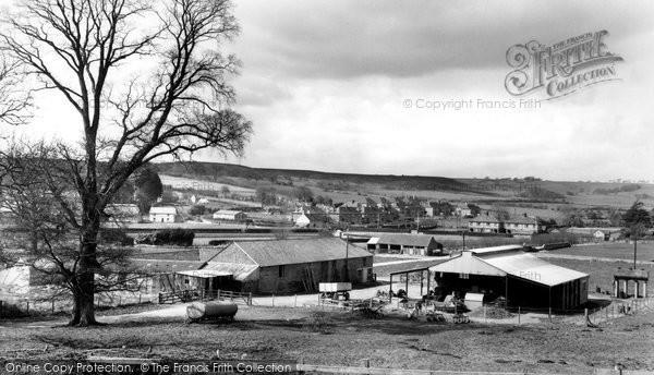 Bere Regis, General View c.1960