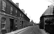 Bere Regis, North Street c.1950