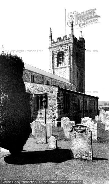 Bere Regis, St John The Baptist Church c.1960