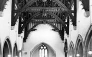 Bere Regis, The Church Nave c.1965