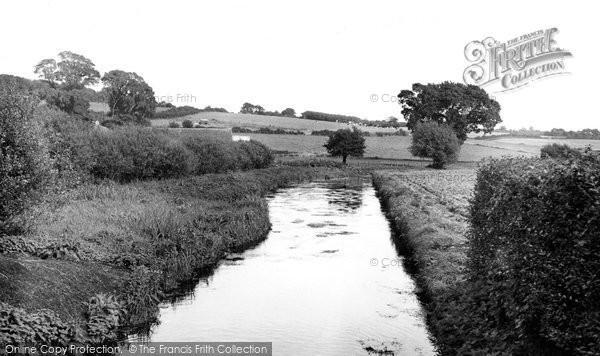 Bere Regis, The River Bere, Southbrook c.1960