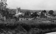 Bere Regis, The Village And St John The Baptist's Church  c.1950