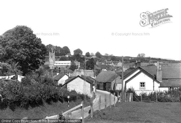 Bere Regis, View From School Meadow c.1950