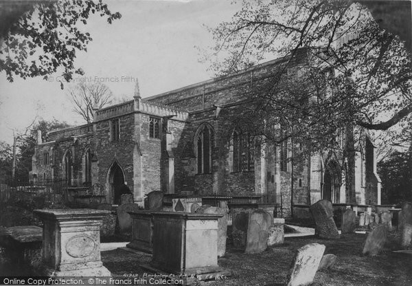 Berkeley, St Mary's Church From The North West 1904