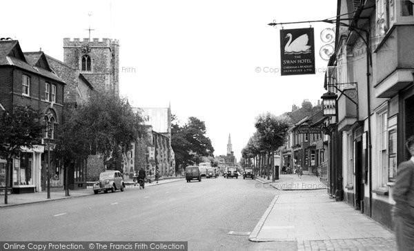 Berkhamsted, High Street c.1948