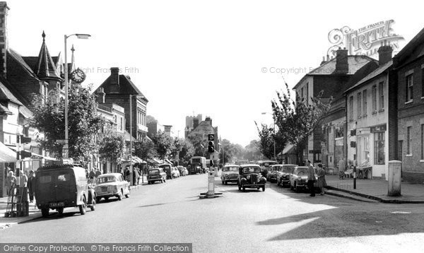 Berkhamsted, High Street c.1955